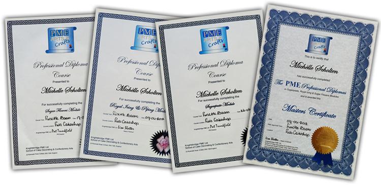 certificaat_pme_michelle_scholten_suikerhuys_stolwijk_gouda_zuid-holland_krimpenerwaard_bruidstaart_cupcakes_bruiloft_3